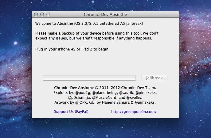Absinthe Chronic Dev Team