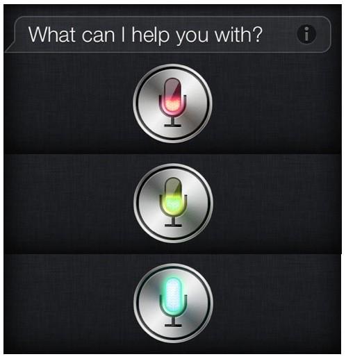 Siri Mic Colors