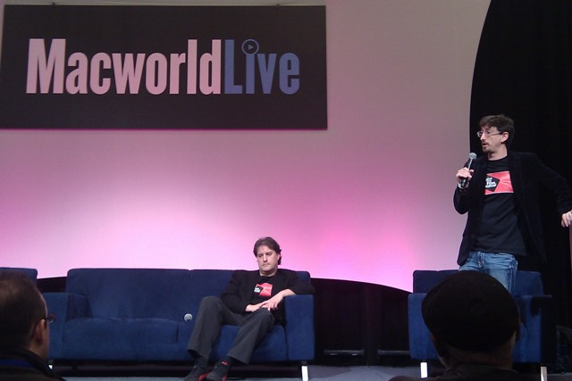 OIFF Founders at MacWorld. @Cultofmac.