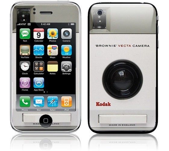 Kodak Brownie iPhone Skin (Photo by Photo Giddy - http://flic.kr/p/baXKwr)
