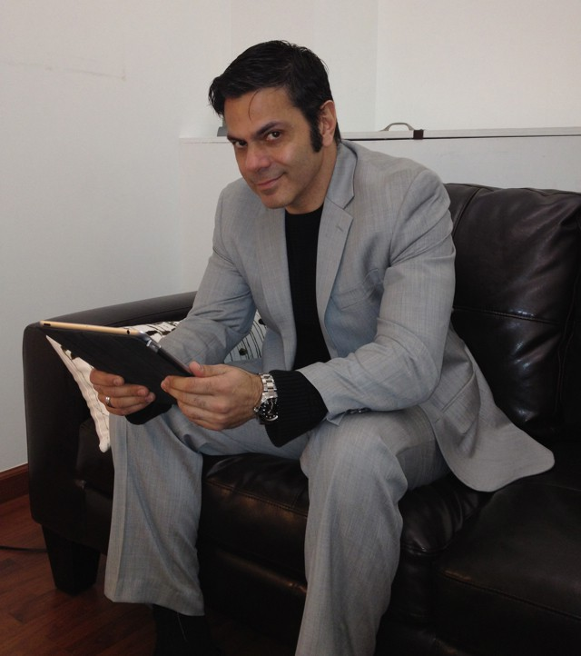 Psychotherapist Marcos Quinones.