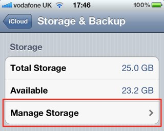 iphone manage storage how to delete icloud backups on your ios device ios tip 12021