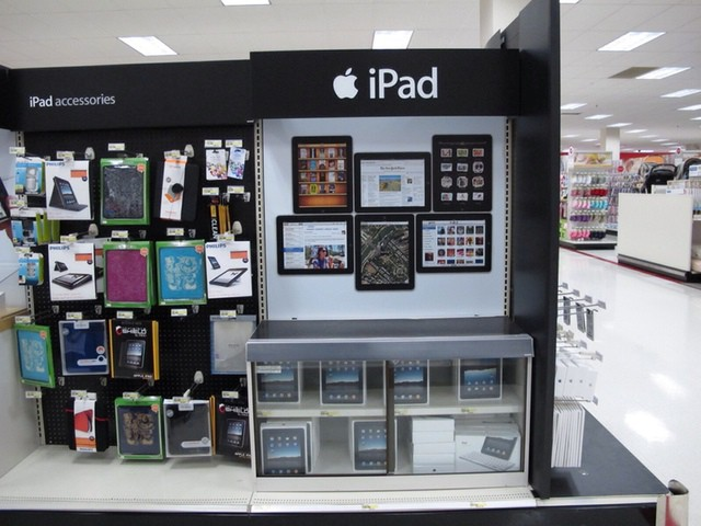 Target Apple displays could expand later this year. (Photo/tonyhall - http://flic.kr/p/8KwQ6T)