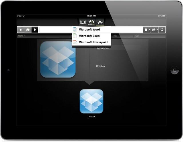 CloudOn-iPad