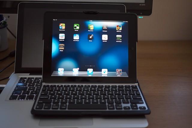 ZAGG compared to MacBook Pro