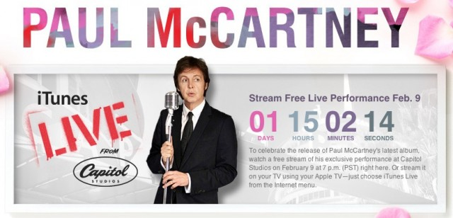 Paul-McCartney-live-concert-iTunes-Feb-9