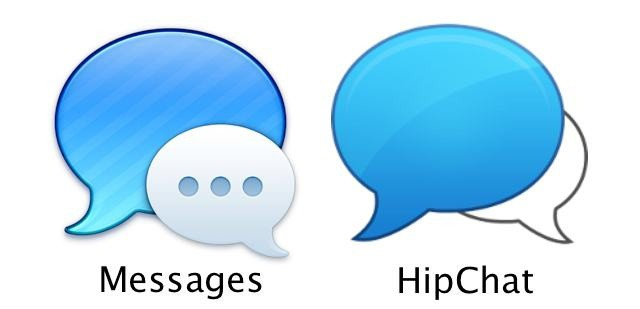 Did Apple Rip Off Messages' Icon Design From HipChat? [Image