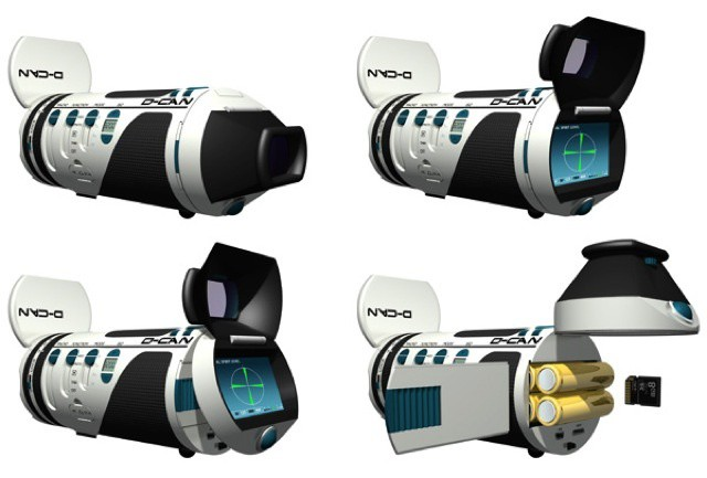 The D-CAN is perhaps the most sensible camera ever. Apart from the name that is