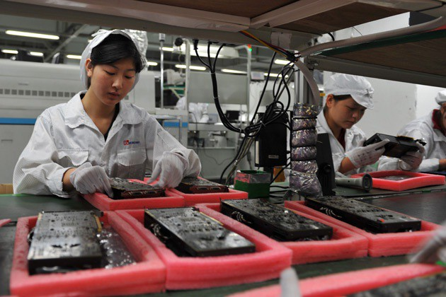 With worker overtime now reduced, Foxconn simply can't assemble as many iPads as it used to.