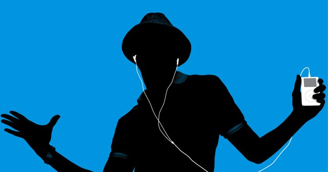 iPod-man