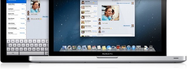Messages combines IM, file sharing and FaceTime