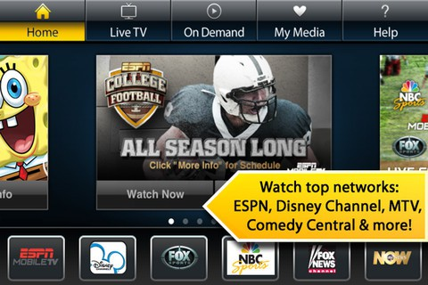 Sprint Releases Free iPhone App For Watching Cable TV On The Go