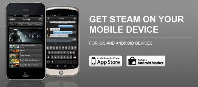 Steam Mobile App For iOS & Android Is Now Available To All