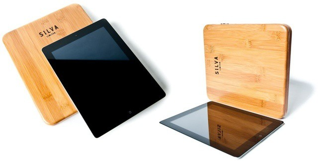 It's not the only bamboo iPad case around, but it's the only one that launched today