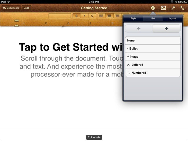 Pages-iPad