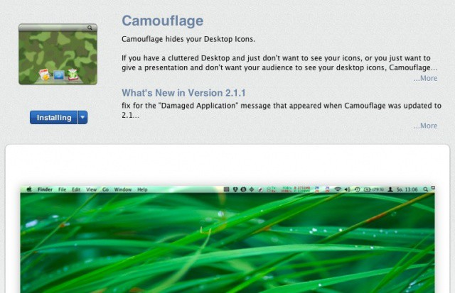 Camouflage App