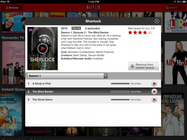 Netflix for iPad just got a facelift.
