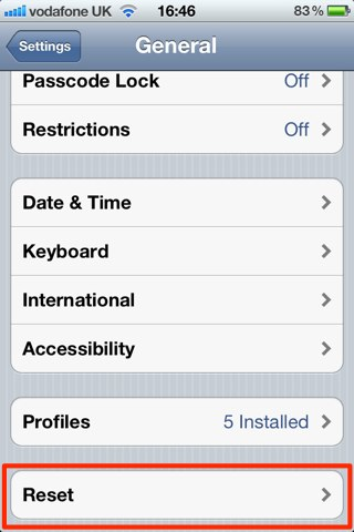 Reset Your iOS Device And Remove All Of Its Content & Settings