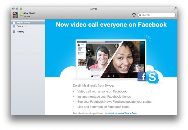 Skype 56 now available with full screen video mode in os x lion skype 56 now available with full screen video mode in os x lion more features ccuart Choice Image