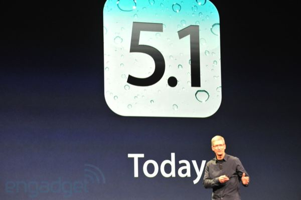 iOS 5 1 Is Dropping Today With Siri In Japanese [iPad 3