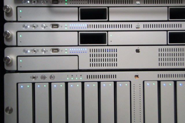 Apple's now-discontinued Xserve and Xserve RAID enterprise hardware