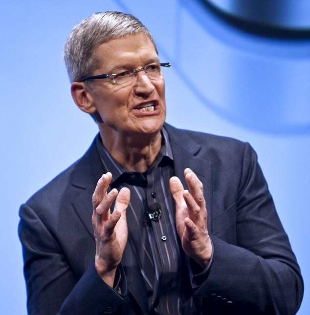 You don't want to cross Tim Cook.