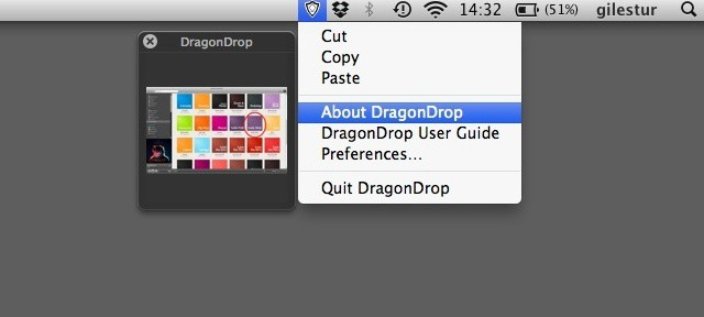Click, shake, drop in DragonDrop