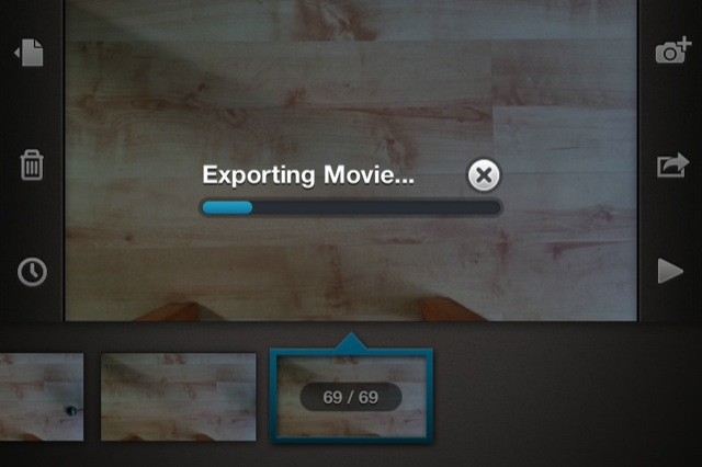 Exporting to Camera Roll