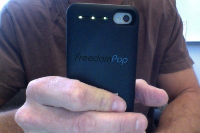 FreedomPop's plans include a 4G iPhone case hotspot