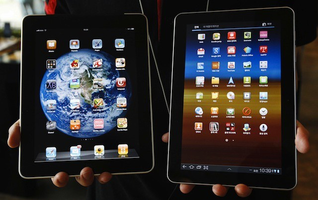 iPad vs. Galaxy Tab - Most companies pick the iPad
