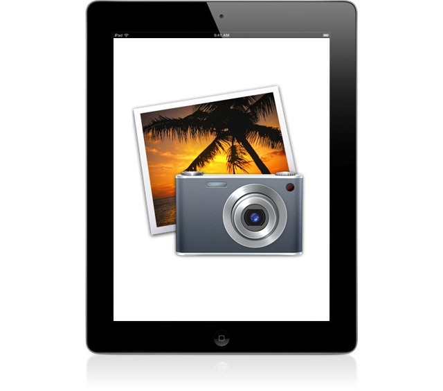 The iPad 3's A6 processor and retina display would be perfect for iPhoto