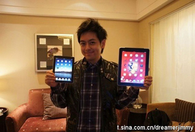 Is that the iPad mini? Nope, but Samsung says it's coming.