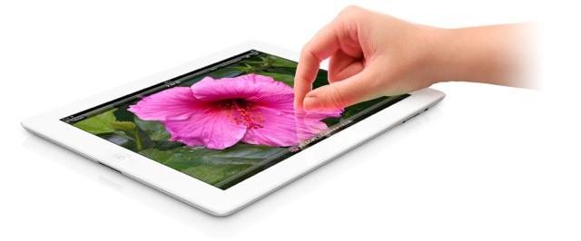 Severed hand uses new iPad.