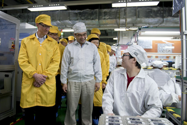 Foxconn employees are about to get a lot happier.
