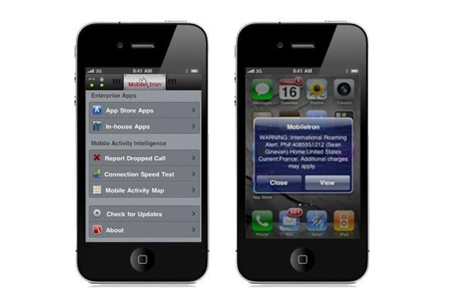 MobileIron's iPhone app