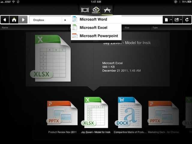 CloudOn brings cloud-based version of Office 2010 to the iPad without licensing or legal concerns