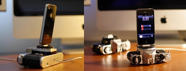 Give a new home to a poor dead old camera