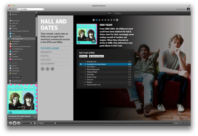 New Spotify Apps Add Liner Notes, Album Covers And Hot Or