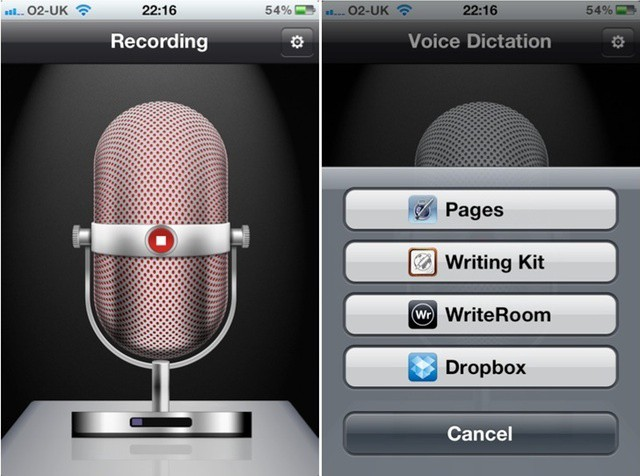 Record, transcribe, send text on your older iPhone