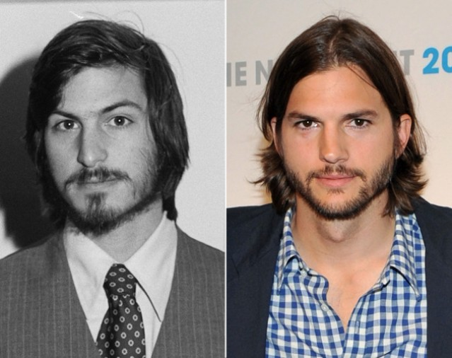 Kutcher is a dead ringer for Jobs in his early days.