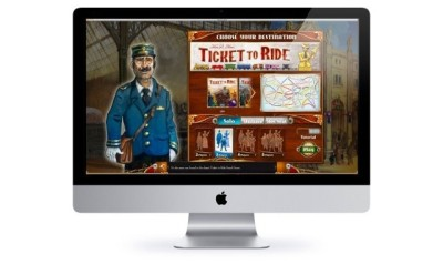 Ticket to Ride for Mac allows you to compete with players on PC and iPad.