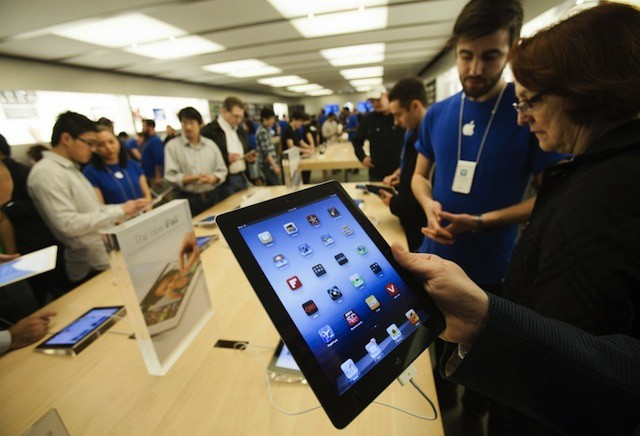 One in four iPad buyers is a new Apple customer