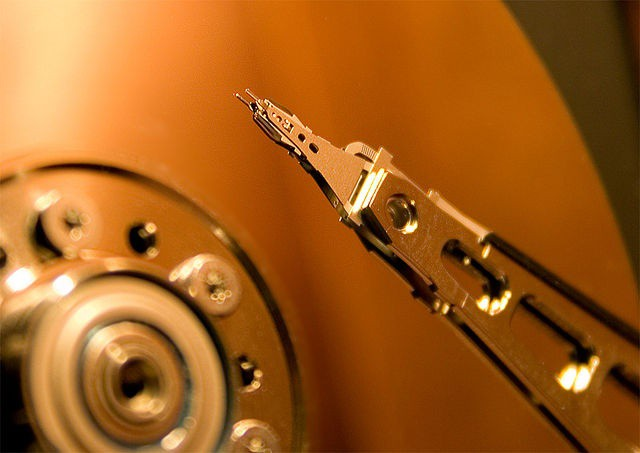 Discarded hard drives often have residual personal data on them