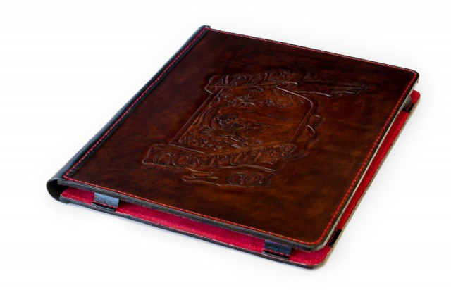 Featuring the original Apple logo designed by Ron Wayne, this iPad case is fit for kings.