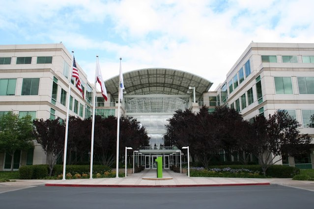 Apple's headquarters in Cupertino, California.