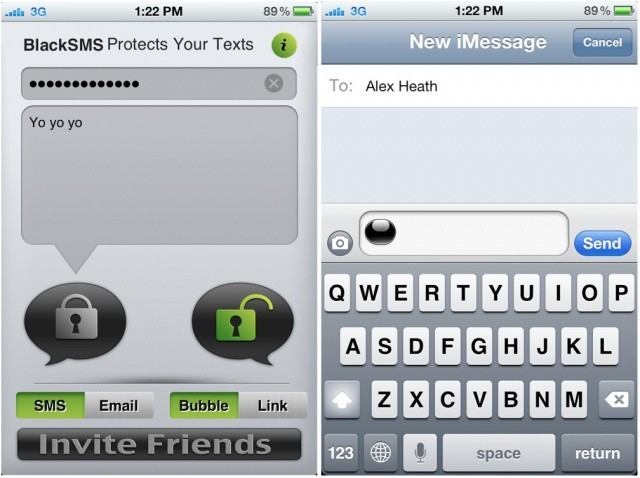 How To Encrypt Texts On Iphone