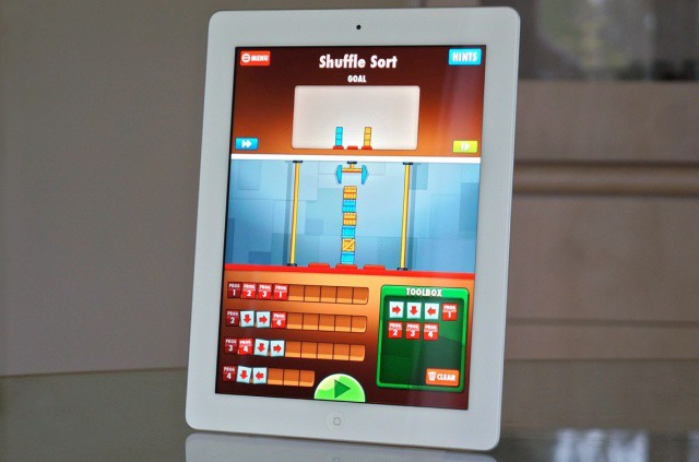 Meet Cargo-Bot, the first game to ever be made on the Apple tablet it was created for.