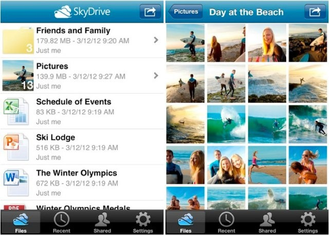 SkyDrive is even better on iOS with the app's latest update.