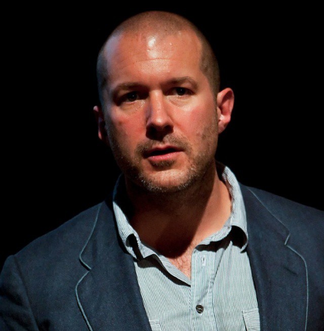 That's 'Sir' Jonathan Ive to you.