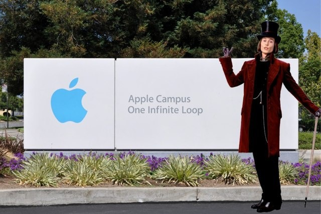Steve wanted to wear a purple suit and top hat and provide a tour of Apple's Cupertino campus for the one millionth iMac.